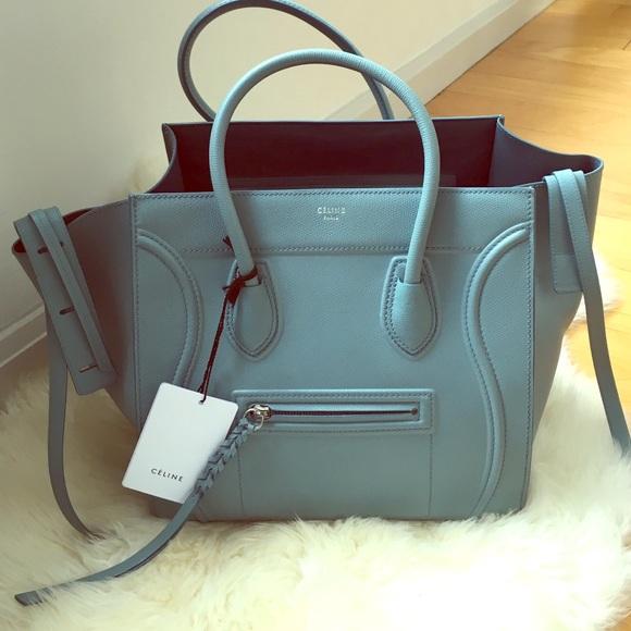 8e5ad724119 Celine Bags   Authentic Phantom Bag In Antique Blue   Poshmark