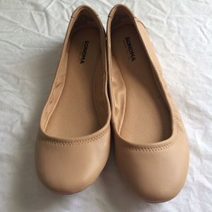 Sonoma Shoes - Nude flats