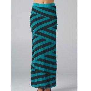 Esley Dresses & Skirts - Stripe Maxi Skirt