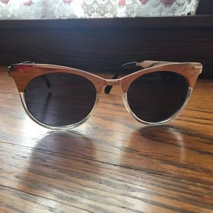 Urban Outfitters Accessories - Urban Outfitters Gold Cateye Frame Sunglasses