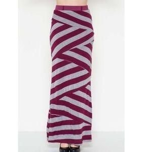 Esley Dresses & Skirts - Striped Maxi Skirt