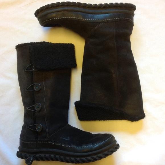 fbe56108cbc Nike Waterproof Black Leather Snow Boots sz 7. M 57c093e26a5830cf8700dd7a