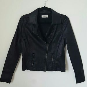 Adam levine Jackets & Blazers - Faux leather moto jacket from Adam Levine's line
