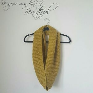 Accessories - Mustard infinity scarf