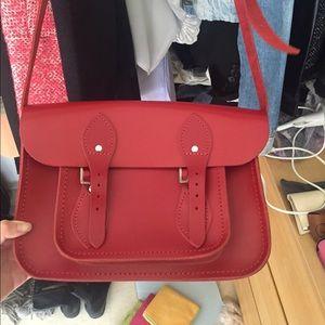 Cambridge Satchel Company red satchel