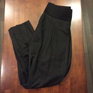 ASOS Pants - MATERNITY Asos Dark Gray Straight Leg Pants Sz 4