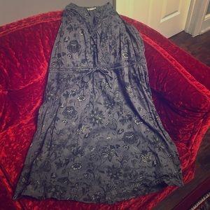 Converse One Star Bandana Shirt Dress Size Large