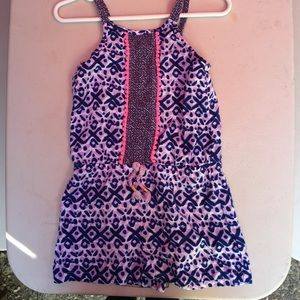 42a3c64049f5 Cherokee One Pieces - Girls toddler challis purple romper