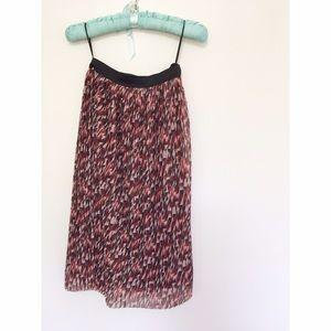 Topshop Dresses & Skirts - Miss Selfridge Double Layered Midi Skirt