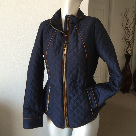 H&M - Quilted jacket with gold zipper detail from Suzy 🌟suggested ... : gold quilted jacket - Adamdwight.com