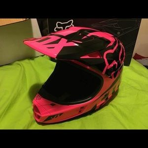 Women's fox V1 helmet