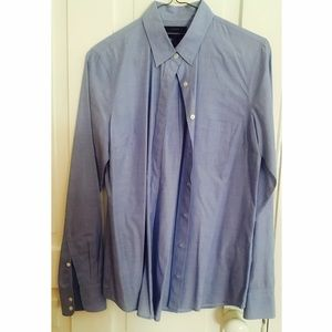 J.Crew Blue Button Down Shirt