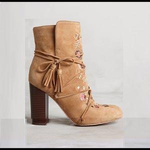 e915b6a5b Anthropologie Shoes - ANTHROPOLOGIE Sam Edelman Winnie Boot tan suede