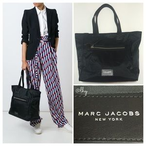 MARC JACOBS NORTH SOUTH NYLON BIKER TOTE