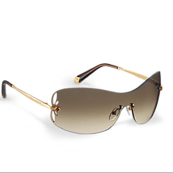 47ef838668 Louis Vuitton Accessories - Authentic Louis Vuitton Lily Aviator Sunglasses!
