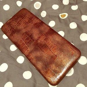Handbags - Hard shell wallet/clutch