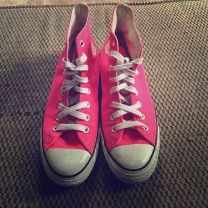 Pink Chuck Taylor ALL-STAR High top Converse