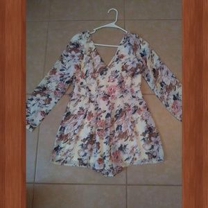 Fashion Nova Pants - Floral Romper!