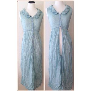 BOGO  90's Vintage Button Up Maxi Dress