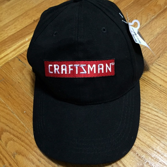 d40b1f7d18a Craftsman Tool Black and Red Baseball Cap
