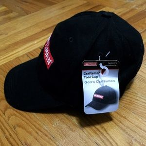 4b34301b11a Craftsman Accessories - Craftsman Tool Black and Red Baseball Cap