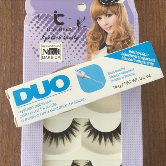 MakeupDuo 3 Adhesive Eyelash Set Sephora Faux Poshmark Pairs SqzMLVGjUp