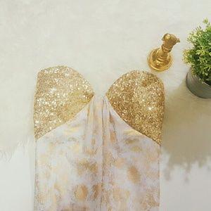La Femme Dresses & Skirts - LA FEMME evening gown/prom dress/wedding dress