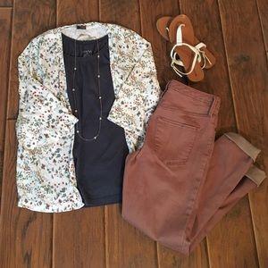 Urban Outfitters Floral Kimono Cardigan