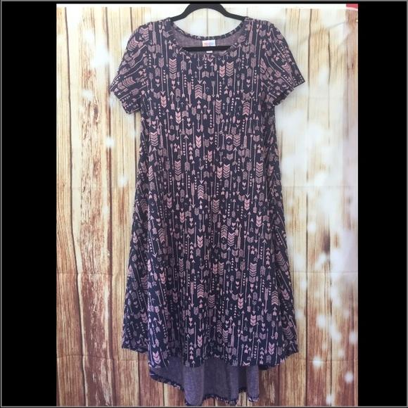 71ecb9d9ce9fd LuLaRoe Dresses | Carly Swing Dress Arrow Print Unicorn | Poshmark