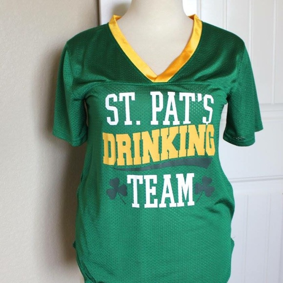 356f40b85 St Patrick's Day!! Jersey shirt from Spencer's. M_57c0da8c5a49d06cd00009bc