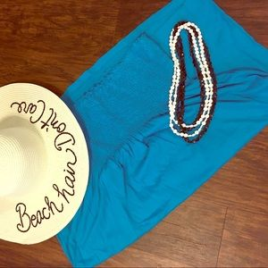 Blue Old Navy swimsuit cover-up