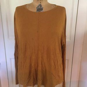 H&M Size M Burnt Orange Sweater