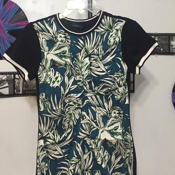 f44da9dc0a30 Zara Dresses   Hula Girl Hawaiian Maxi Dress Xs Extra Small   Poshmark
