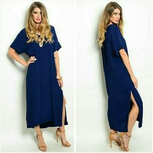 Short sleeve maxi dress Size Small/Medium NWT