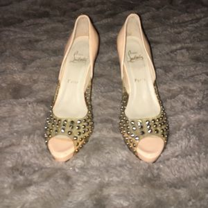Christian Louboutin Shoes - CHRISTIAN LOUBOUTIN Heels Sz 38 Gently Loved