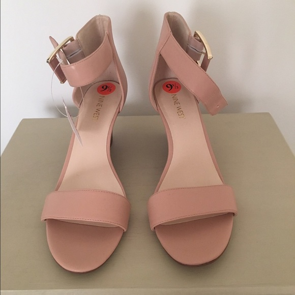 a84a71cc79 Nine West Shoes | Nwt Nude Rosendale Wedge Sandals 95 | Poshmark