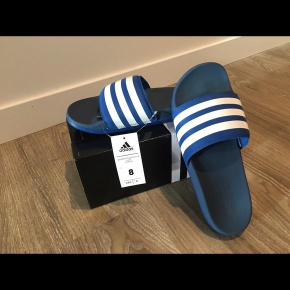 Le adidas adilette supercloud diapositive poshmark