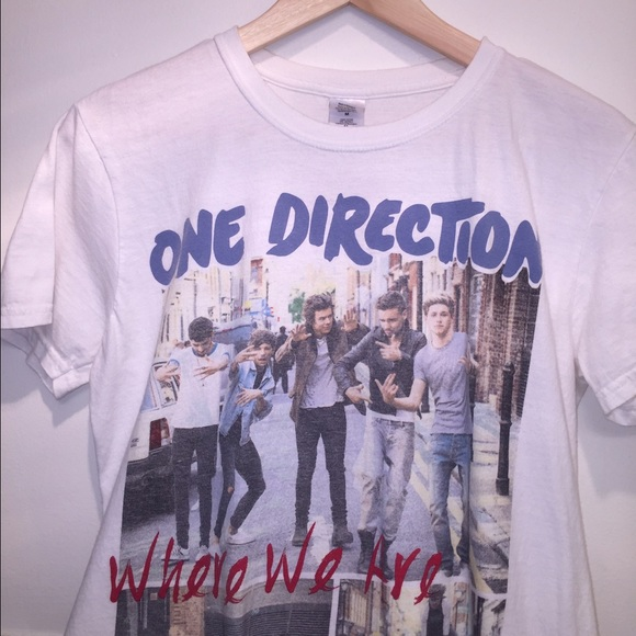 One Direction Where We Are Tour 2014 Shirt
