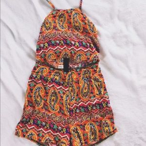 Dresses & Skirts - Colorful Paisley Romper