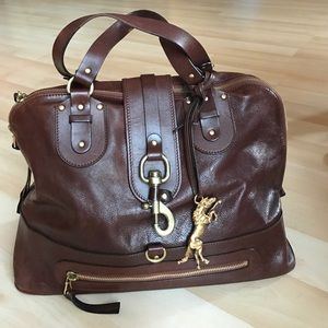 Chloe Handbags - Extra large brown leather Chloe Kerala purse
