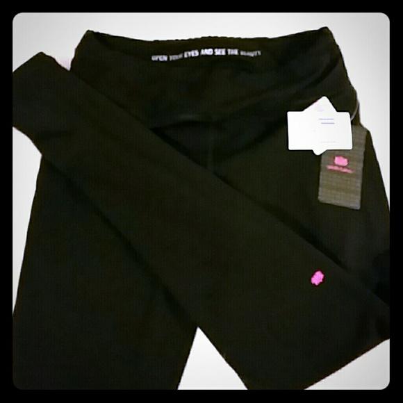 Pink Lotus Pants Jumpsuits Yoga Pants Poshmark