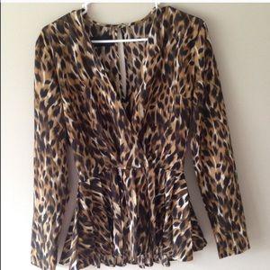 Kardashian Kollection Tops - Kardashin top. Perfect condition. Leopard print