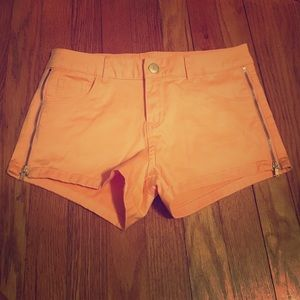 refuge Pants - Light orange Charlotte Russe shorts