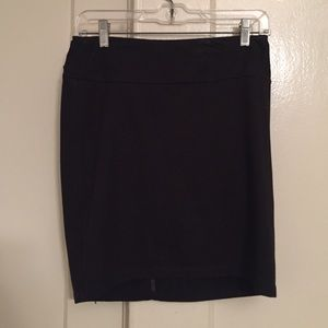 Silence + Noise Black mini skirt