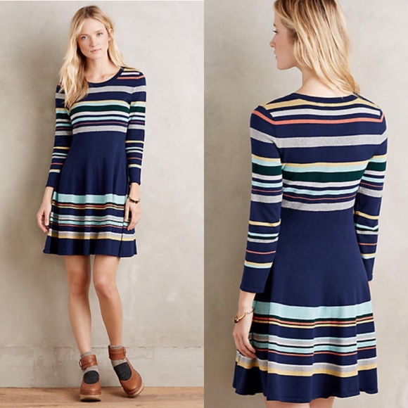 2c21462398 Anthropologie Dresses & Skirts - ⚡️FLASH SALE⚡ Scooped Sweater Dress ...