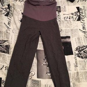 Motherhood Maternity Pants - Gray motherhood maternity leggings