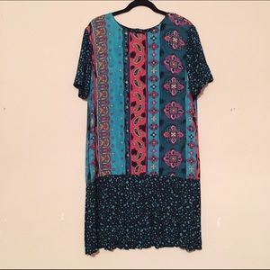 Vintage Patterned Dress