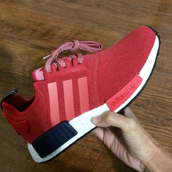 Adidas Shoes - Nmd R1 vivid Red Women s athlete shoes 1a072e56f3