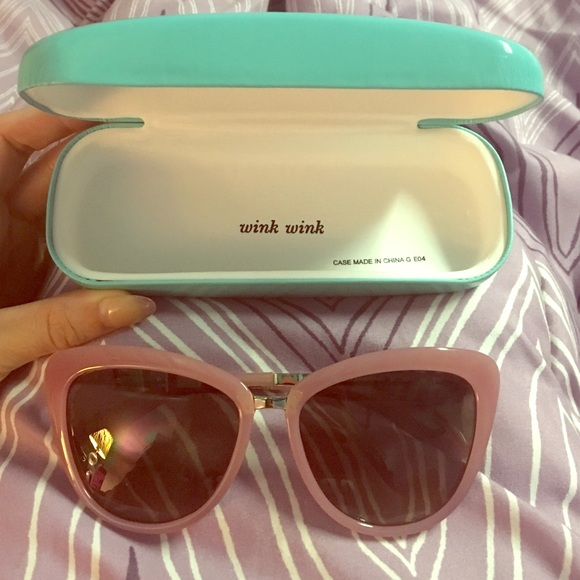 84f421a1a657 kate spade Accessories - Kate Spade vintage pink cat eye sunglasses