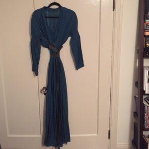Max Azria boho runway dress